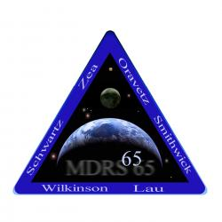 Crew 65 Mission Patch