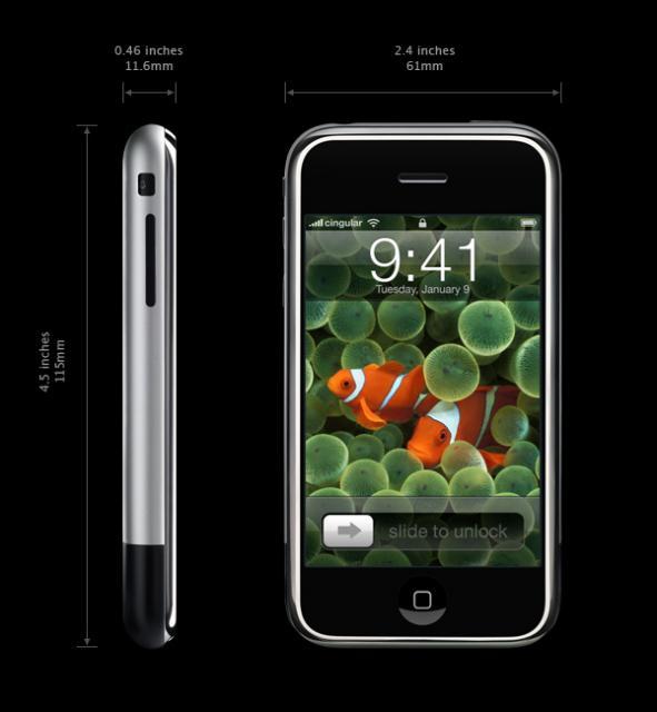 Apple's iPhone 2007